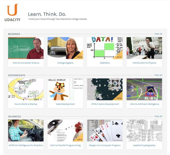 Just leon Site of the Week: Udacity.com