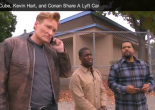Ice Cube, Kevin Hart and Ice Cube get a Lyft