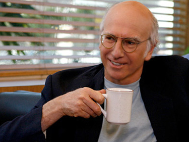 Larry David Comedians in Cars Getting Coffee