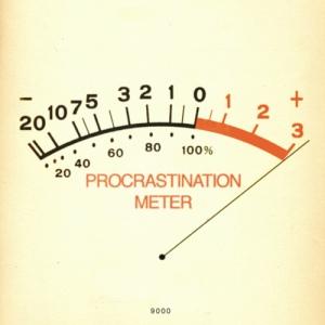 Procrastination Meter original